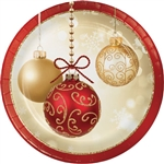 Opulent Ornaments 7 inch Plates