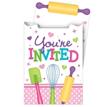 Little Chef Invitations