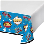 SuperHero Slogans Table Cover