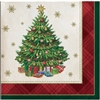 TREE TRADITIONS BEVERAGE NAPKINS