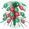 HOLIDAY ORNAMENTS CASCASE CENTERPIECE