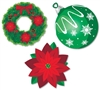 HOLIDAY ICONS CUTOUT ASSORTMENT