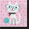 Purr-Fect Party Luncheon Napkins