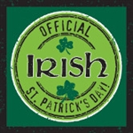 Officially Irish St. Patrick's Day Beverage Napkins