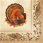 Traditional Feast Beverage Napkins