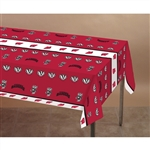 Wisconsin Badgers Plastic Tablecover 54In X 108In