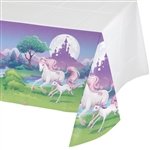 Unicorn Fantasy Plastic Tablecover