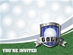 Golf Party Invitations