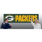 Green Bay Packers Giant 8' X 2' Banner
