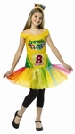 Crayola Crayon Box Dress Tween Costume