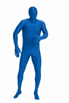 Blue Bodysuit (40-42) Large Adult Costume