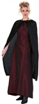 PANNE VELVET CAPE - 45 inches