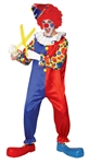 BUBBLES THE CLOWN ADULT COSTUME