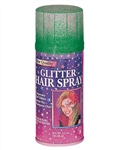 GREEN GLITTER COLOR HAIRSPRAY