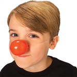 RED PLASTIC CLOWN NOSE