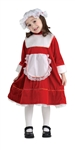 LIL MISS SANTA 4-6 KIDS COSTUME