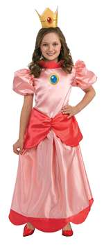 SUPER MARIO PRINCESS PEACHES CHILD COSTUME - TODDLER