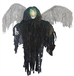 Hanging Blacked Winged Reaper - Lights Up
