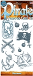 Buccaneer Pirate Temporary Tattoo Set