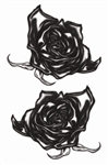 Black Roses Goth Tattoo