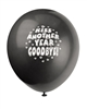 Kiss Another Year Goodbye Latex Balloons