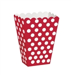 Red Dots Small Treat Box