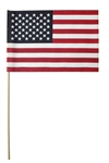 12in.X18in. Us Flag 2Ct Package