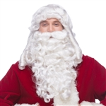 Santa LX Wig and Beard Set