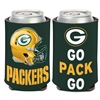Green Bay Packers Go Pack Go Can Cooler