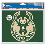 "Milwaukee Bucks 5"" x 6"" Multi-Use Decal"