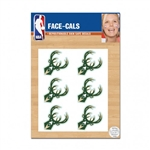 Milwaukee Bucks Face-Cals Stickers