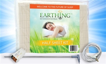 Earthing Half Sheet Kit (Universal Bed Pad) 36x120""