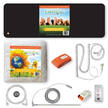 Throw, Universal Mat, bands, cords, testers