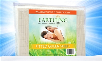 Earthing Fitted Sheet Queen Kit
