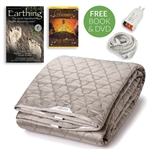 Earthing Grounded Silver Sleep Pad Large Kit