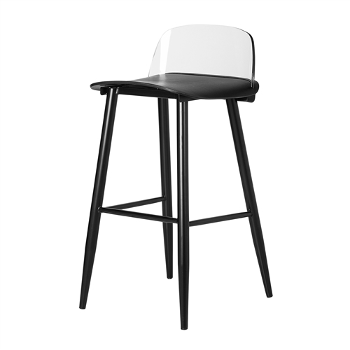 Nerd Replica Bar Stool in Black