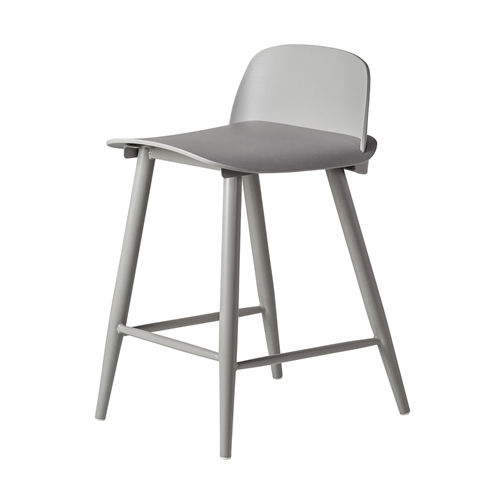 Nerd Replica Counter Stool in Grey