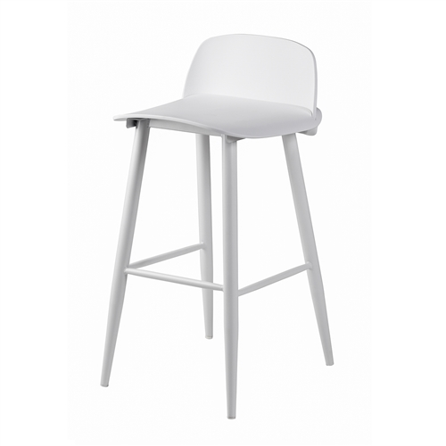 Nerd Replica Bar Stool in White
