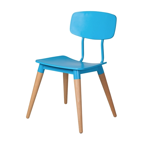 Copine Inspired Sean Dix Chair in Blue