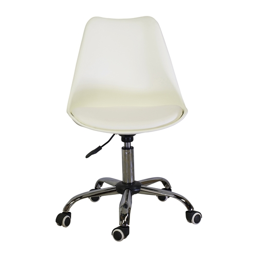 Charles Jacobs Office Chair in White