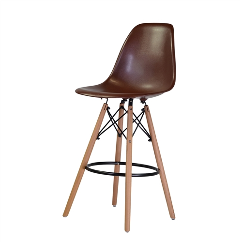 Charles Eames Style DSW Counter Stool - White