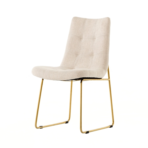 Camile Dining Chair in Savile Flax