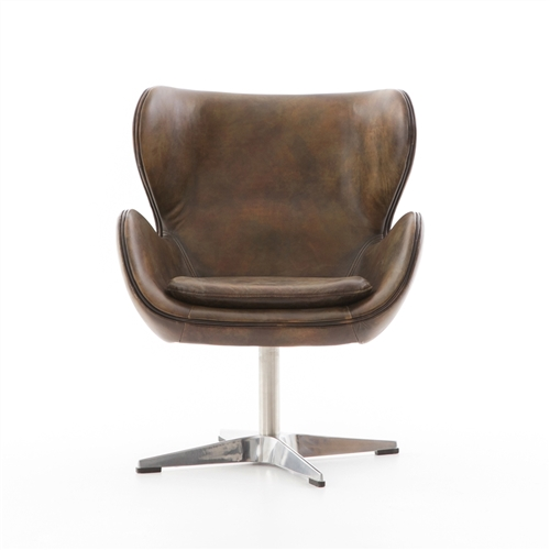 Regent Swivel Chair in Old English Espresso