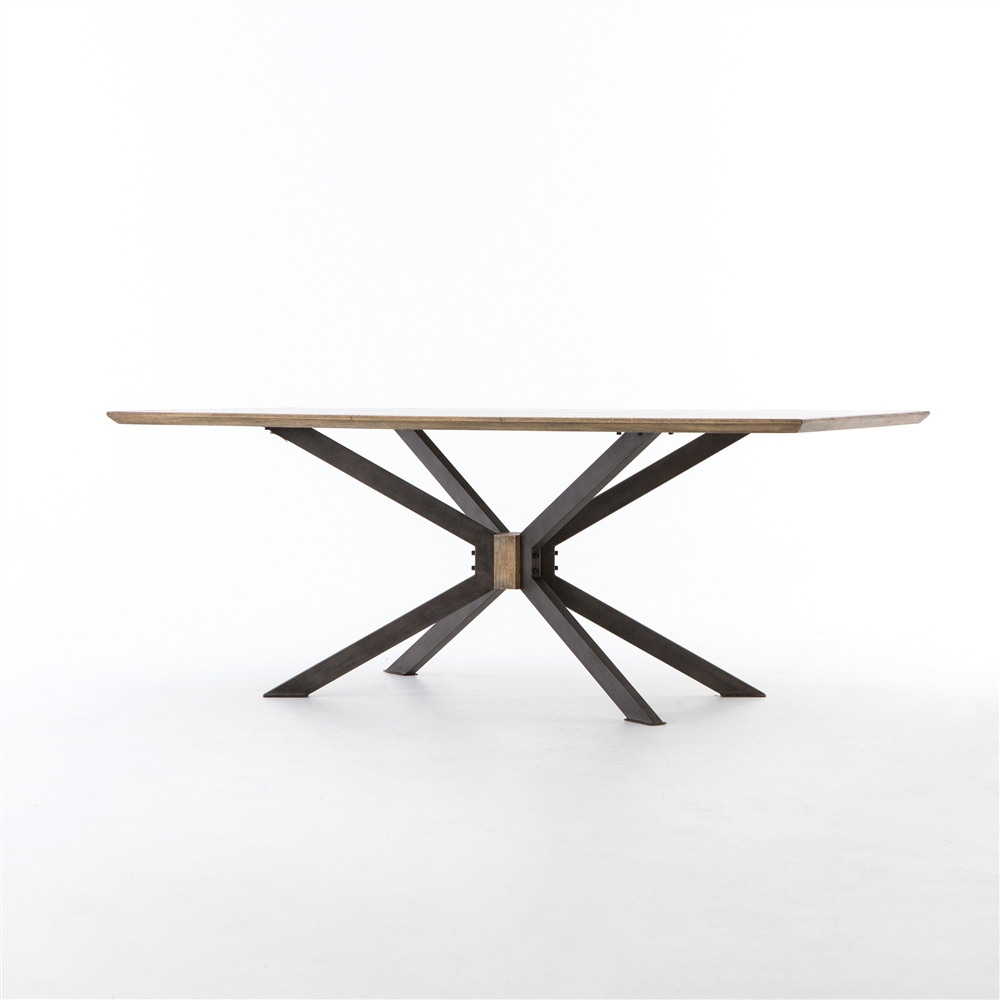 Spider dining table the khazana home austin furniture store for Dining table tj hughes