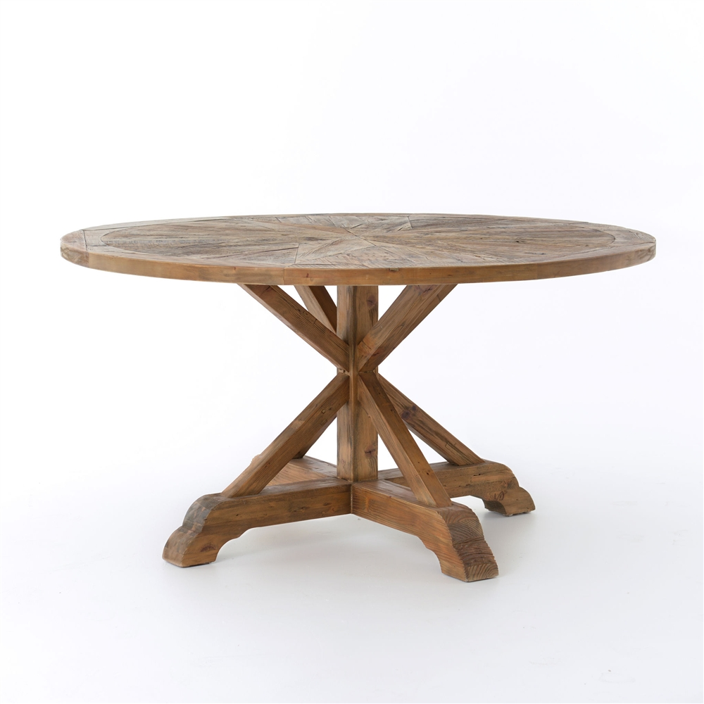 Opio round table the khazana home austin furniture store for Dining table tj hughes