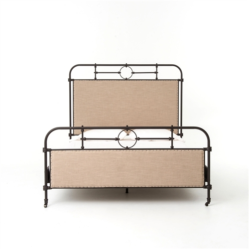 Irondale Berkley Metal Queen Bed