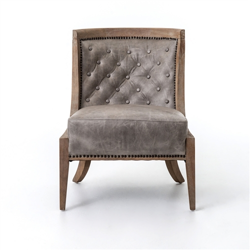 Kensington Monroe Occasional Chair-Light Grey