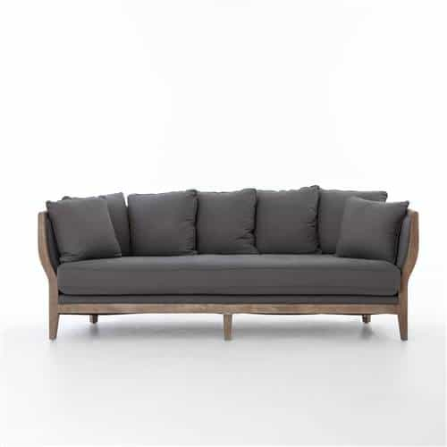Kensington Hayes Sofa in Finn Charcoal