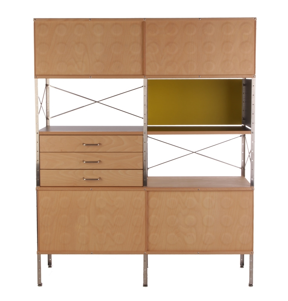 Eames Inspired Storage Unit