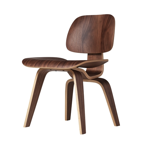 Charles Eames Style DCW Dining Chair with Wood Base